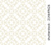 white and gold geometric... | Shutterstock .eps vector #214649626