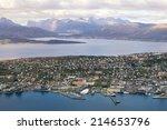Aerial View Of Tromso  Norway