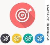 target icon | Shutterstock .eps vector #214693996