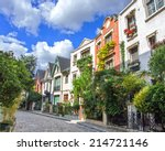 street of paris | Shutterstock . vector #214721146