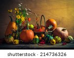 Autumnal Halloween Still Life...