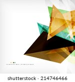 abstract sharp angles... | Shutterstock . vector #214746466