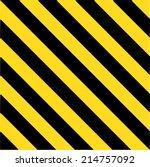 Industrial Striped Road Warnin...