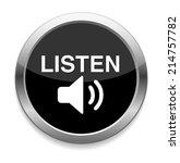 listen icon   Shutterstock .eps vector #214757782