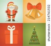 vector illustration icon set of ...   Shutterstock .eps vector #214761532