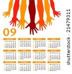 giving hands 2009 vector... | Shutterstock .eps vector #21479311
