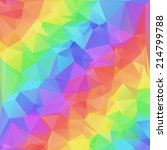 abstract colorful background of ... | Shutterstock .eps vector #214799788