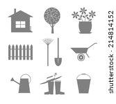 Garden Icon Set. Icons Set...