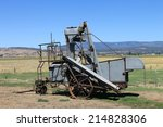 Antique Grain Harvester