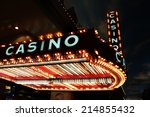 casino sign | Shutterstock . vector #214855432