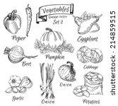 Vector Vegetables Set 2 ...