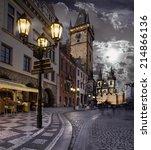 Prague  Old City Hall On The...