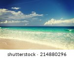 vacation  travel and background ... | Shutterstock . vector #214880296