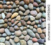 stone wall texture | Shutterstock . vector #214903642