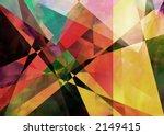 Geometric paperlike background - stock photo