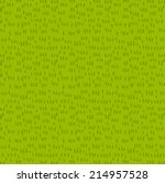 Fresh Grass Seamless Vector...