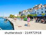 sibenik  croatia   aug 26  2014 ... | Shutterstock . vector #214972918