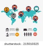 education design over white... | Shutterstock .eps vector #215010325