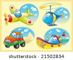 family of vehicles | Shutterstock .eps vector #21502834