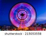 Ferris Wheel In Ulsan  South...
