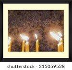 original watercolor painting of ... | Shutterstock . vector #215059528