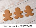 high angle view of three... | Shutterstock . vector #215070472