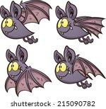 Bat Flight Cycle. Vector Clip...