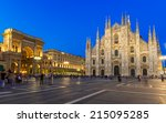 Night View Of Milan Cathedral ...
