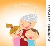illustration  for grandparents' ...   Shutterstock .eps vector #215192788