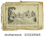 old village | Shutterstock . vector #215220565