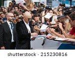 venice  italy   september 05 ... | Shutterstock . vector #215230816