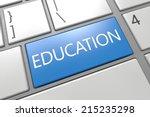 Education   Keyboard 3d Render...