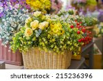 Background Of Flowers.