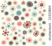 flower snowflakes. click on my... | Shutterstock .eps vector #21523804