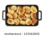 Roast Potato In A Baking Tray