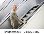Mature Businessman Ascending...