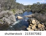 Постер, плакат: Collie River flowing downstream