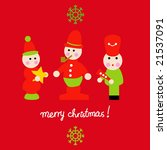 Vector Set Of Christmas 29