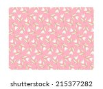 seamless pattern with cute... | Shutterstock .eps vector #215377282