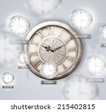 Clocks And Time Zones Over The...