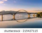 Champlain Bridge Across Lake...