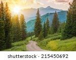 Mountain Landscape. Colorado...