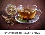 mix of bio herbal tea | Shutterstock . vector #215467822
