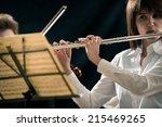 Professional Female Flutist...