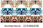 abstract ornament | Shutterstock .eps vector #215486458
