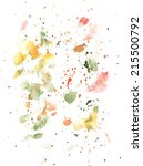 watercolour drops background...   Shutterstock . vector #215500792