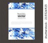 vector corporate identity... | Shutterstock .eps vector #215526925