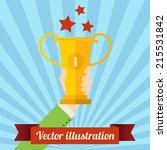 flat design vector...   Shutterstock .eps vector #215531842