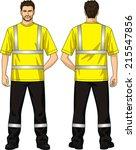 t shirt alarm lemon color with... | Shutterstock .eps vector #215547856