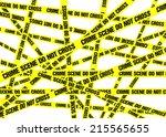 """A Sea Of Yellow """"crime Scene D..."""